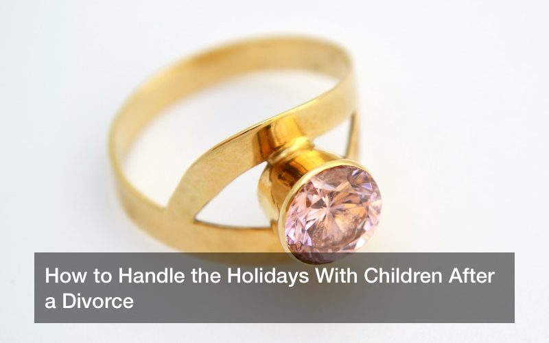 How to Handle the Holidays With Children After a Divorce
