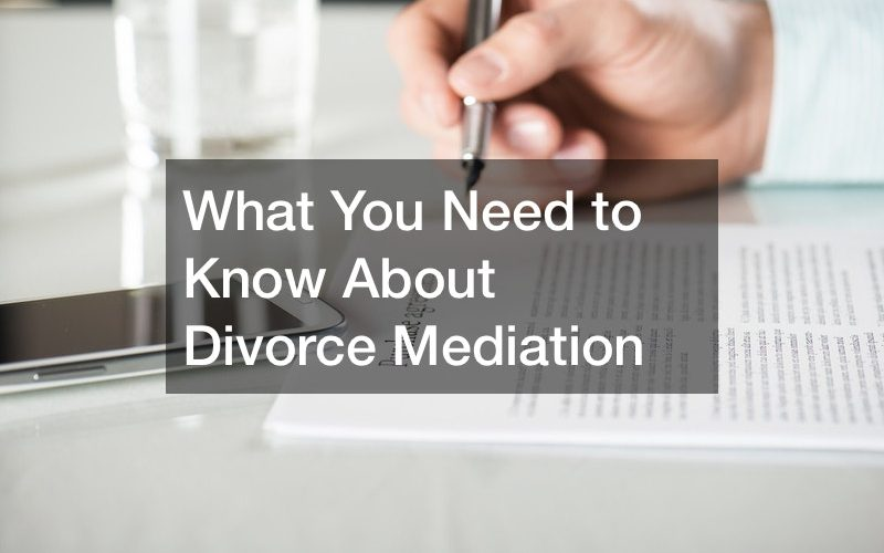 What You Need to Know About Divorce Mediation